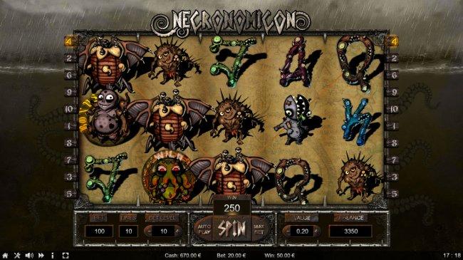 Necronomicon screenshot