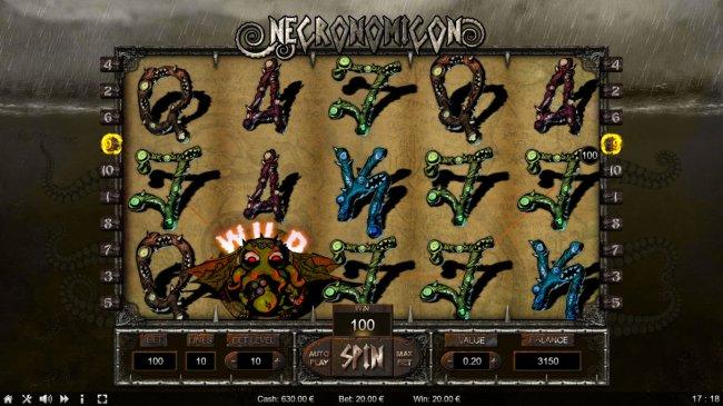 Free Slots 247 image of Necronomicon
