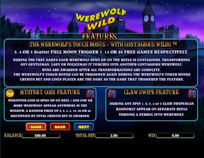 Werewolf Wild screenshot