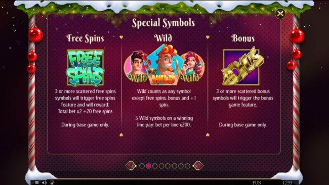 Free Slots 247 image of Cupids' Strike Christmas Edition