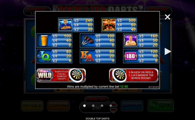Free Slots 247 image of Double Top Darts