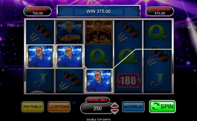 Double Top Darts by Free Slots 247