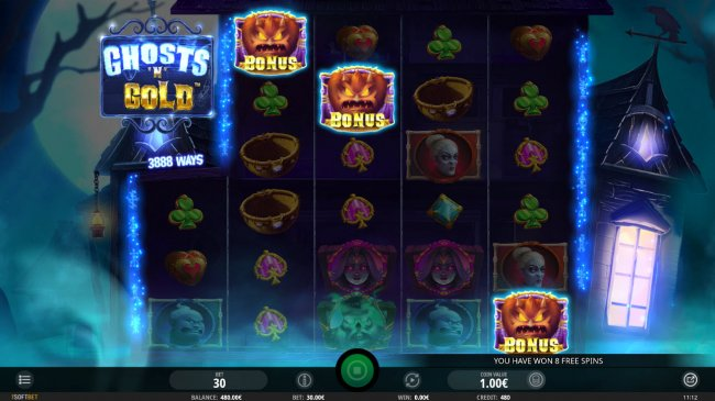 Scatter symbols triggers the free spins feature - Free Slots 247