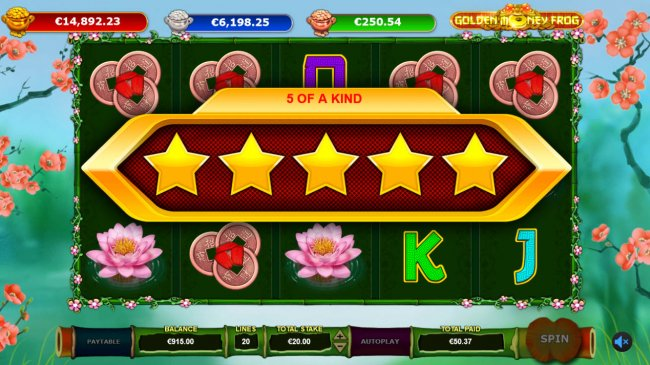 Free Slots 247 - Five of a Kind