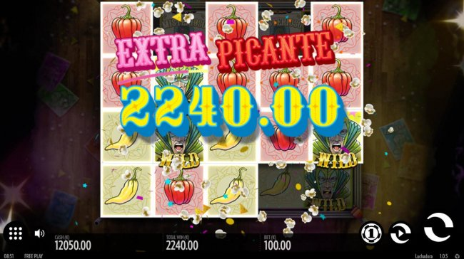 A 2240.00 big win awarded. by Free Slots 247