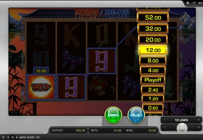 Free Slots 247 - Ladder Gamble Feature Game Board