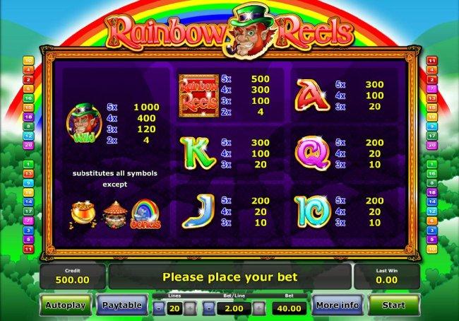 Free Slots 247 image of Rainbow Reels