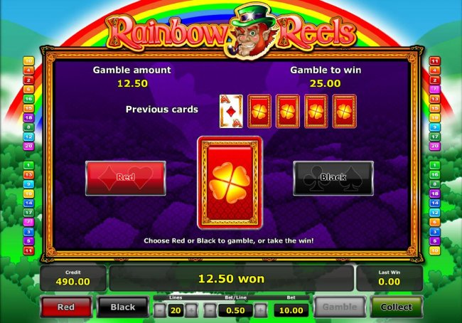 Rainbow Reels screenshot