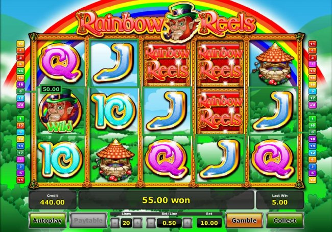 Rainbow Reels by Free Slots 247