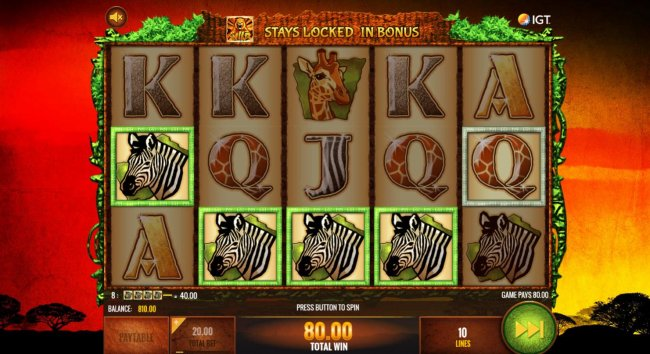 Free Slots 247 - A winning Four of a Kind.