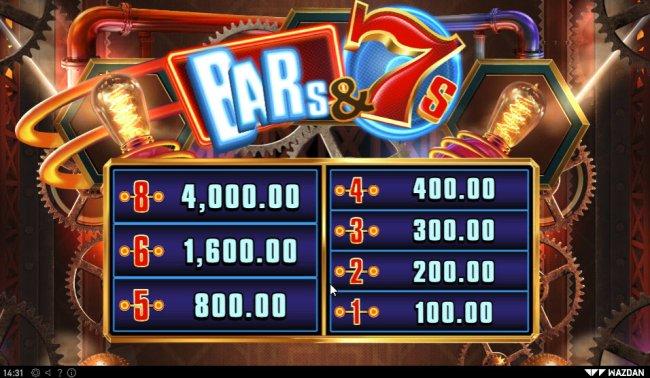 Bar's & 7's screenshot