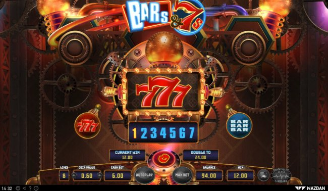 Bar's & 7's by Free Slots 247