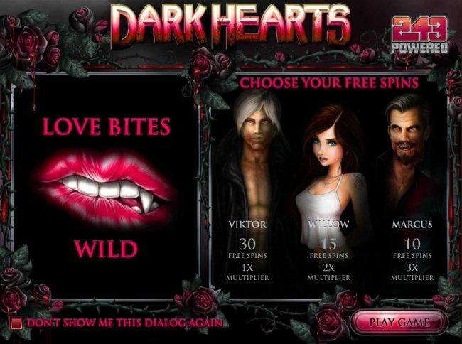 Free Slots 247 image of Dark Hearts