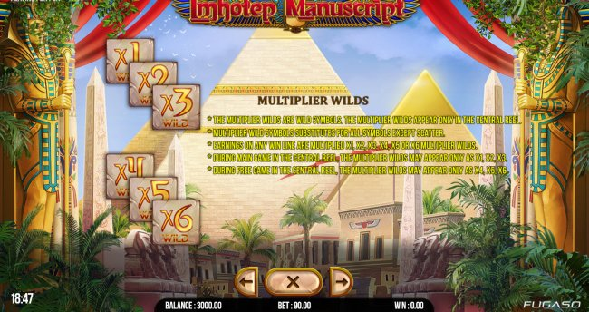 Imhotep Manuscript by Free Slots 247