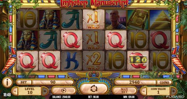 Free Slots 247 image of Imhotep Manuscript