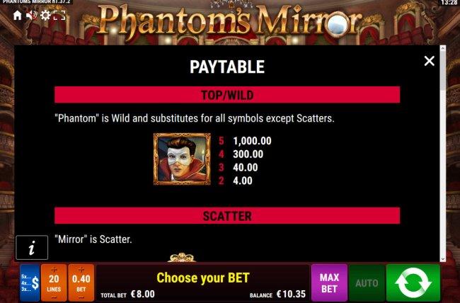 Phantom's Mirror by Free Slots 247
