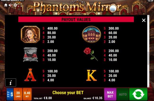 Phantom's Mirror screenshot