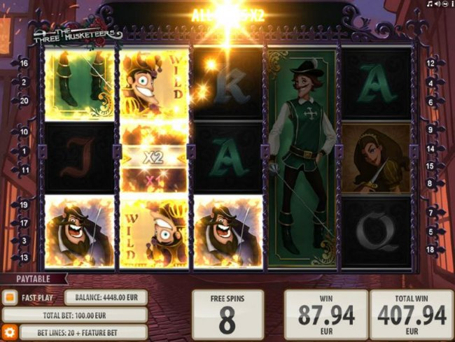 The Three Musketeers by Free Slots 247