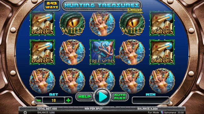 Free Slots 247 image of Hunting Treasures Deluxe