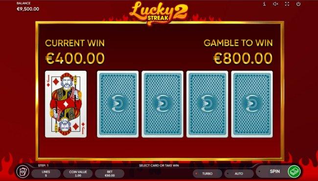 Lucky Streak 2 screenshot