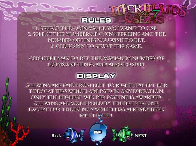 Free Slots 247 image of Mermaids of the 7 Seas