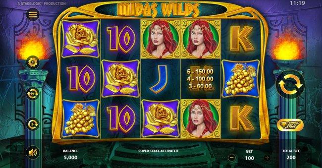 Free Slots 247 image of Midas Wilds