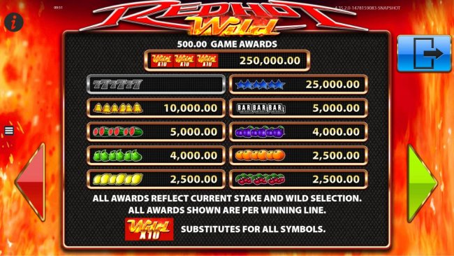 Red Hot Wild screenshot