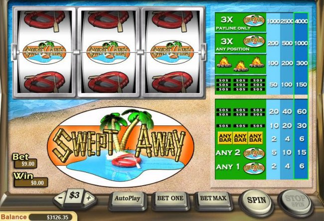 Free Slots 247 image of Swept Away