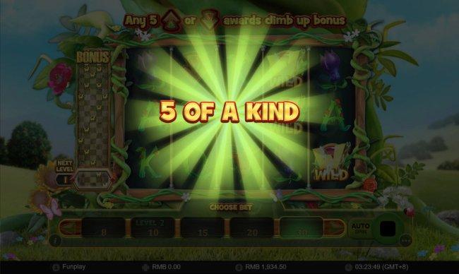 A winning five of a kind - Free Slots 247