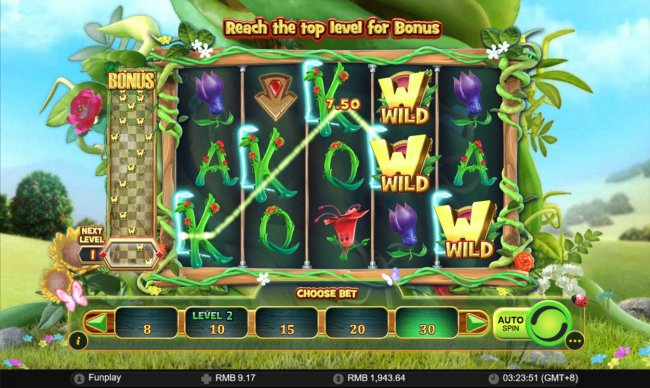 Wilds and the Beanstalk by Free Slots 247
