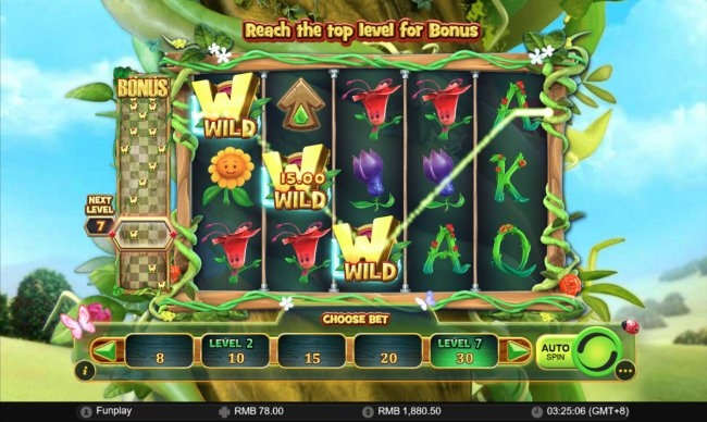 Free Slots 247 image of Wilds and the Beanstalk