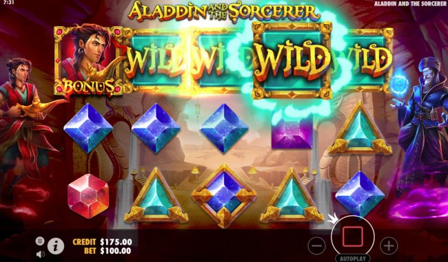 Aladdin and the Sorcerer screenshot