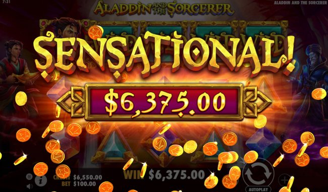 Free Slots 247 image of Aladdin and the Sorcerer