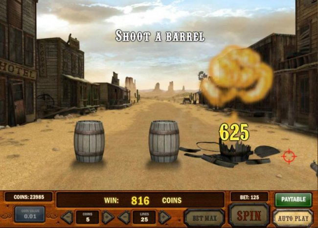 Free Slots 247 - 625 coins paid out. nice shooting