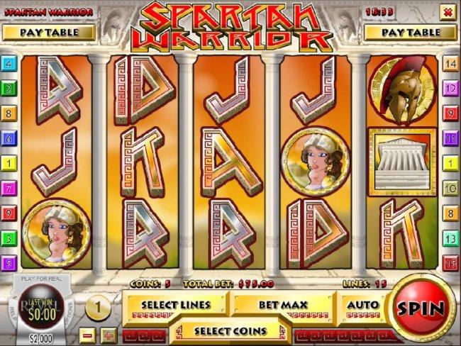 Spartan Warrior by Free Slots 247