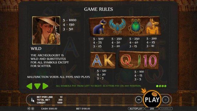 Tales of Egypt screenshot