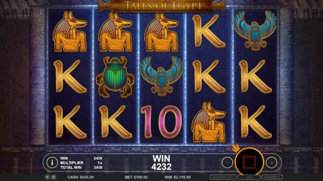 A chosen symbol four of a kind triggers a mega win. - Free Slots 247
