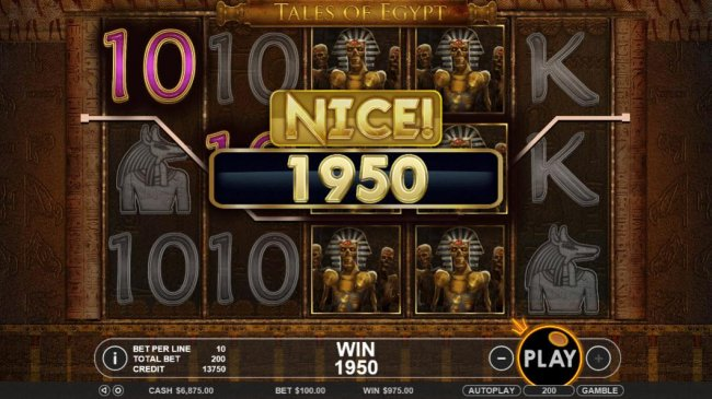 Free Slots 247 - Multiple winning paylines triggers a 1950 coin big win!