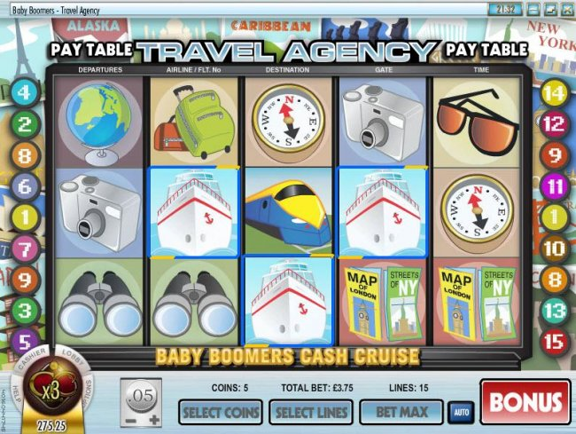 Free Slots 247 image of Baby Boomers Cash Cruise