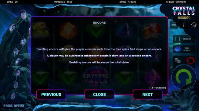 Free Slots 247 image of Crystal Falls
