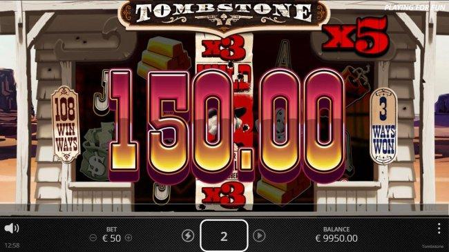 Tombstone screenshot