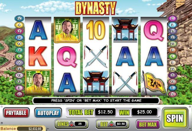 Free Slots 247 image of Dynasty