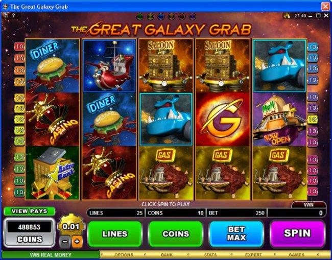 The Great Galaxy Grab screenshot
