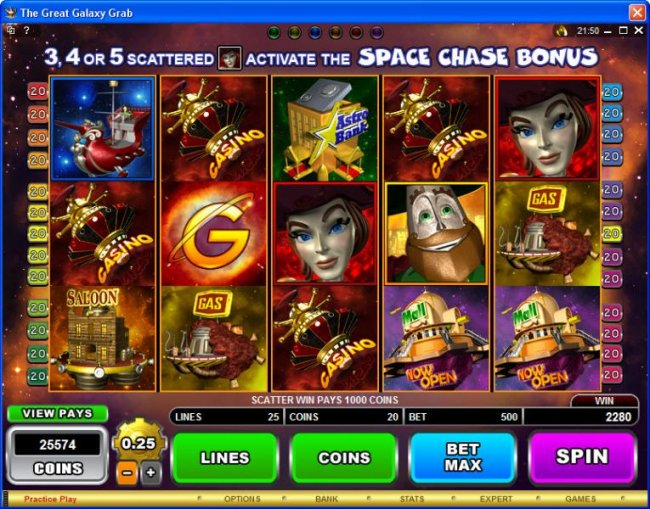 The Great Galaxy Grab by Free Slots 247