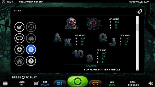 Free Slots 247 image of Helloween Fever