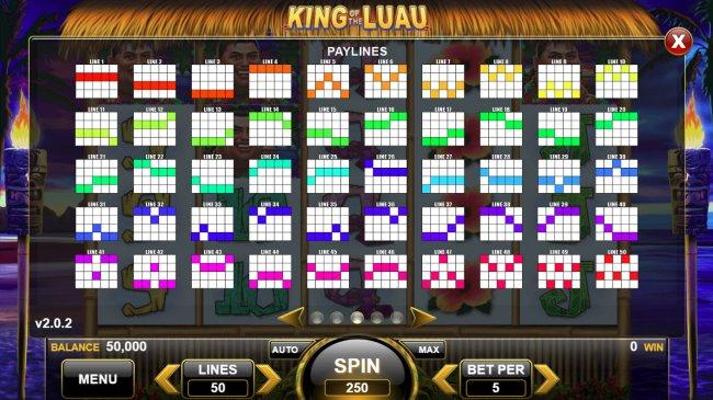 Free Slots 247 - Paylines 1-50