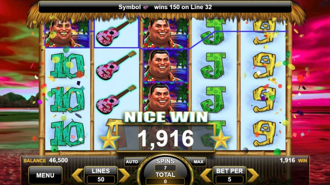 King of the Luau by Free Slots 247