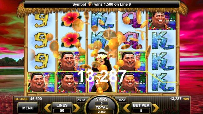 Free Slots 247 image of King of the Luau