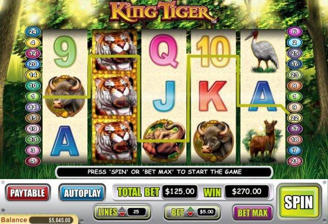 King Tiger screenshot