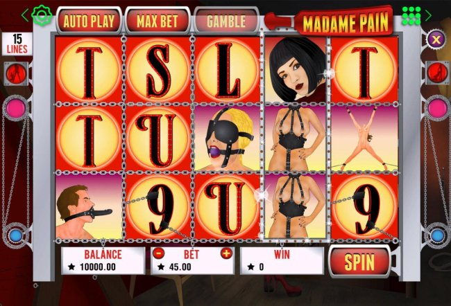 Madame Pain by Free Slots 247